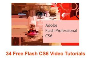 34 Free Flash CS6 Video Tutorials