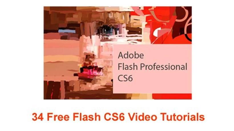 34 Free Flash CS6 Video Tutorials