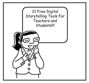 Free Digital Storytelling Tools For Teachers and Students