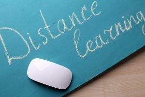 The History Of Distance Learning - Infographic