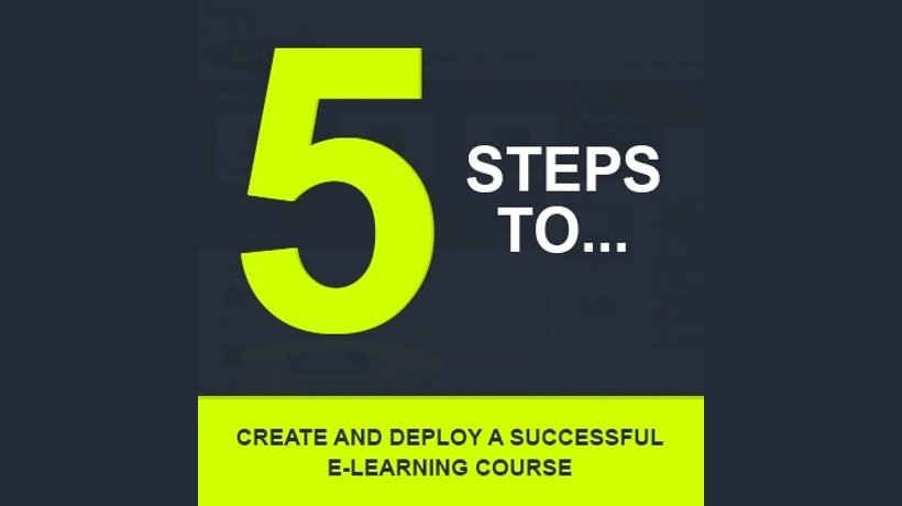 5 Steps To Create And Deploy A Successful e-Learning Course