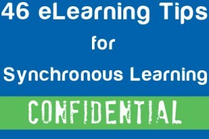 46 eLearning Tips for Synchronous Learning