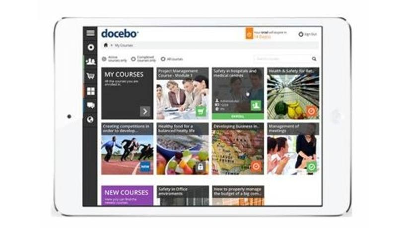 A New Tablet Ready, Single Page Web App For E-Learning Comes From Docebo