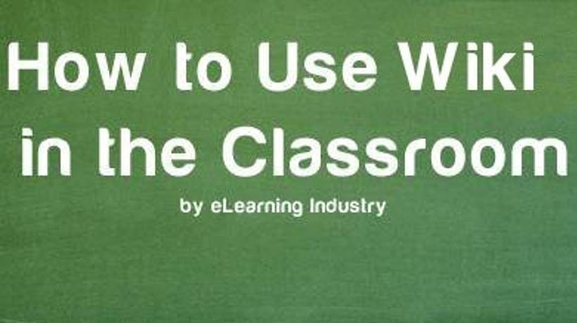 How To Use Wiki In The Classroom Elearning Industry
