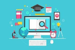 K12 Online Learning Infographic