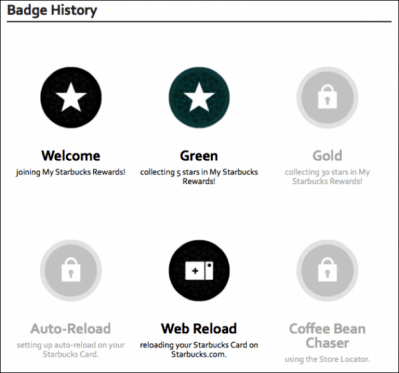 badge history