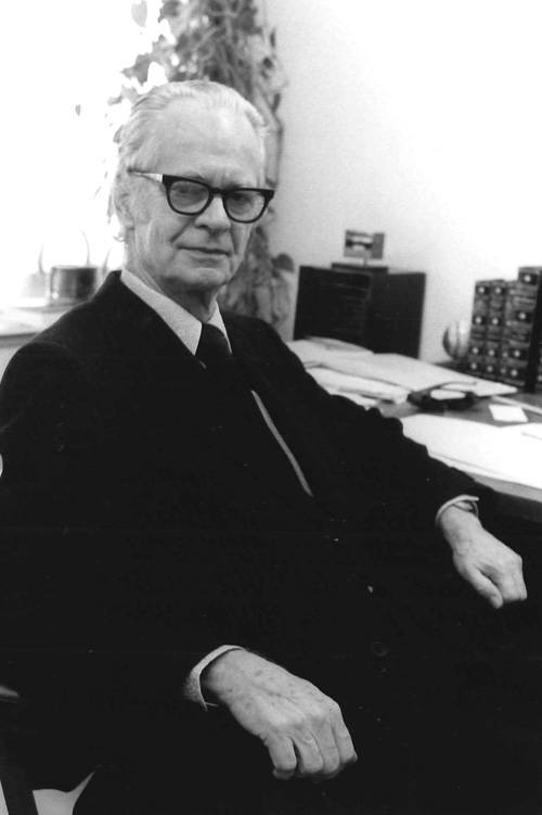 B.F. Skinner. Courtesy of Harvard University.