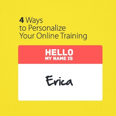 4 Ways to Personalize Your Online Training