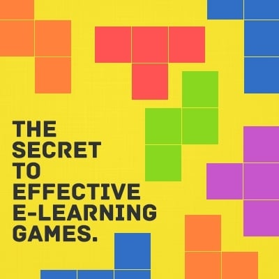 The Secret to Effective e-Learning Games