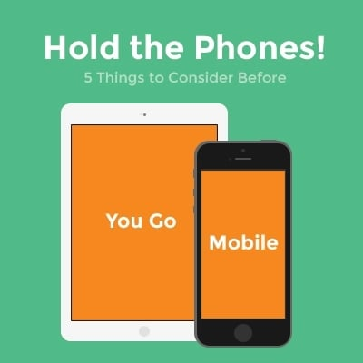 5 Things to Consider Before You Go Mobile
