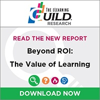 New Research Report: Beyond ROI: The Value of Learning