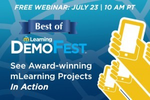 Best of mLearning DemoFest Webinar 2014