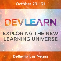 DevLearn 2014, Oct. 29 - 31, Bellagio Las Vegas