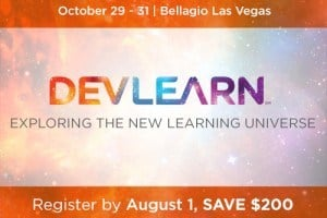 Explore the New Learning Universe at DevLearn 2014: $200 Discount Ends Friday!