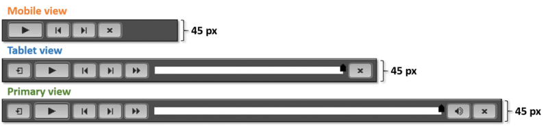 Playbar