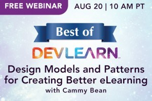 Free Best of DevLearn Webinar