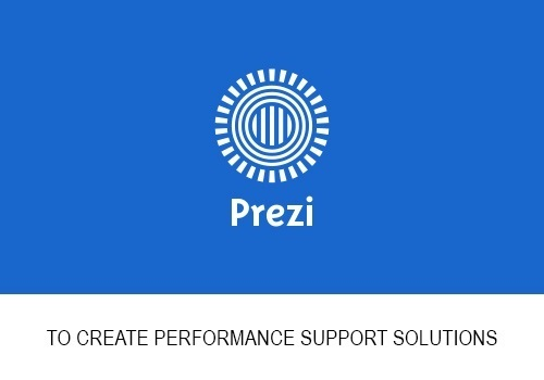Performance Support: Featuring Prezi Animations To Supplement Online Training