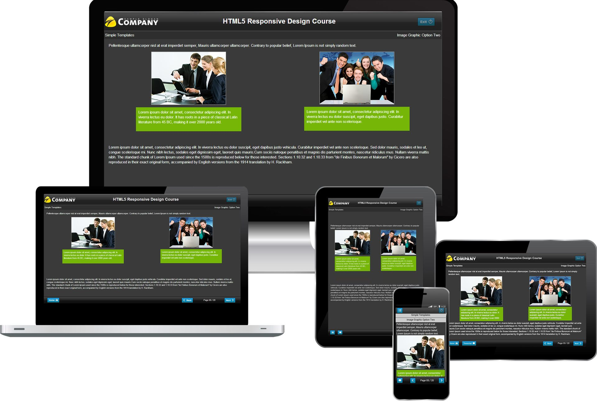 Responsive eLearning Design Are we ready yet