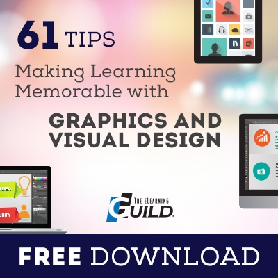 Free eBook: 61 Tips for Making Learning Memorable with Graphics and Visual Design