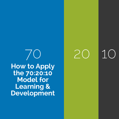 How to Apply the 70:20:10 Model for Learning & Development