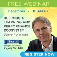Free Best of Ecosystem Webinar: Building a Learning and Performance Ecosystem, December 17 | 10 AM PT