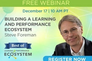 Image for Free Webinar: Building a Learning and Performance Ecosystem
