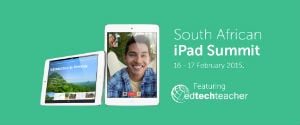 Image for South African ipad Summit