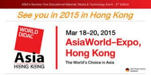 Image for Worlddidac Asia 2015