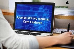 Image for Free Webinar: Learn more about JoomlaLMS