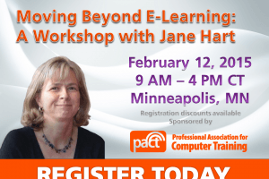 Image for Moving Beyond E-Learning: A Workshop with Jane Hart