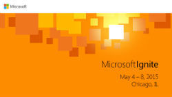 Image for Microsoft Ignite 2015