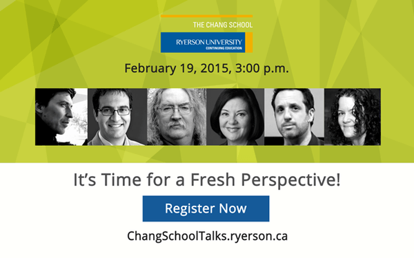 ChangSchoolTalks 2015 - Lifelong Learning Reimagined