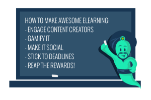 Gamify eLearning Development To Engage Content Creators