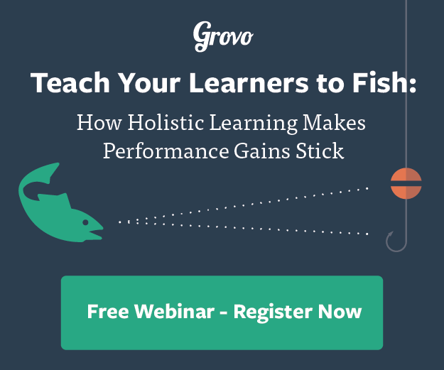 Free Webinar: Teach Your Learners To Fish With Holistic Learning