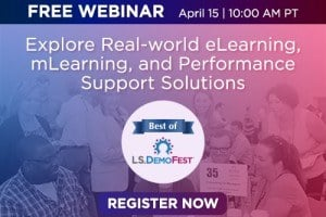 Image for Best of LS DemoFest 2015: Award-winning eLearning in Action
