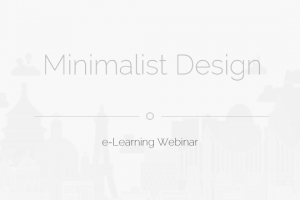 Image for Free Webinar: Minimalist Design