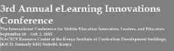 Image for 3rd eLearning Innovations Conference