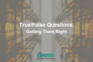 Image for True/False Questions: Getting Them Right