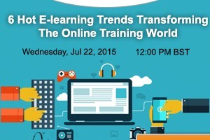 Image for Free Webinar: 6 Hot E-learning Trends Transforming The Online Training World