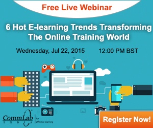 Free Webinar: 6 Hot E-learning Trends Transforming The Online Training World