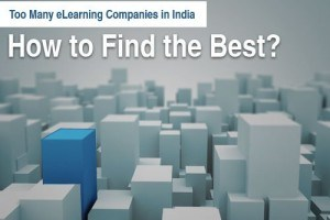 Too Many eLearning Companies In India – How To Find The Best?