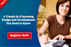 Image for Free Webinar: 6 Trends in E-learning Design and Development You Need to Know