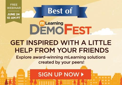 Webinar: Best Of mLearning DemoFest 2015