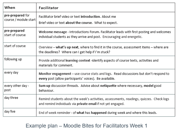 facilitation plan template top 5 tips for online facilitators elearning industry