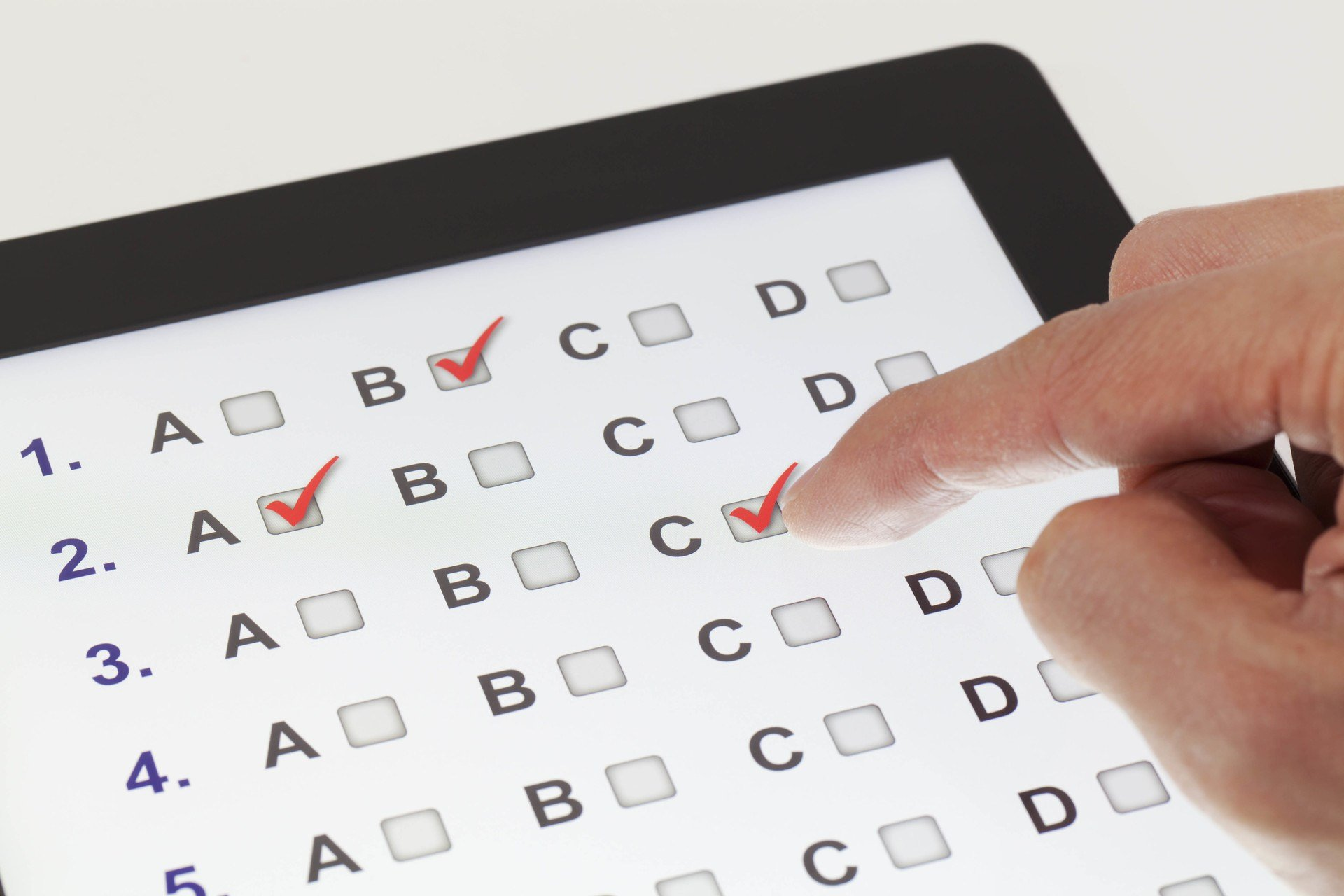 Multiple Choice Questions In Elearning What Elearning