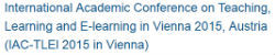 Image for IAC-TLEl 2015 in Vienna