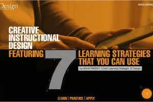 Free eBook: Creative Instructional Design - 7 Learning Strategies That You Can Use