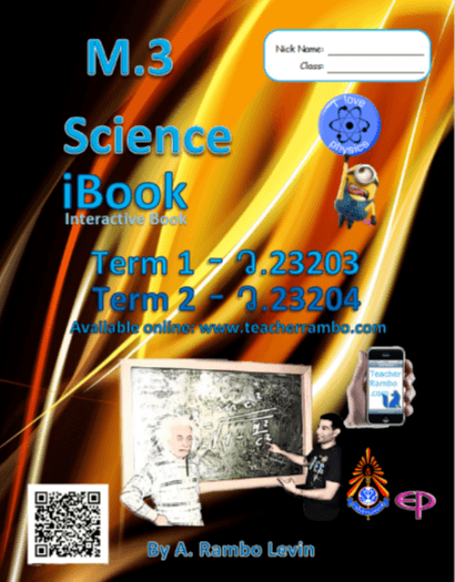 Science iBook (Interactibe Book) for grade 9