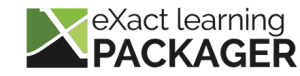 eXact learning Packager logo