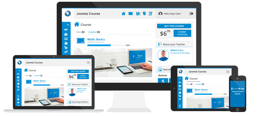 joomla learning management system